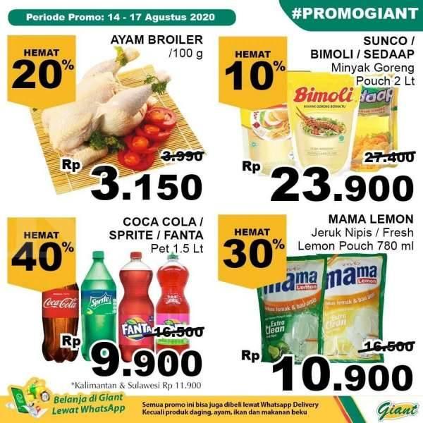 Katalog Promo Jsm Giant 14 17 Agustus 2020 Jangan Dilewatkan Kontan Co Id Line Today