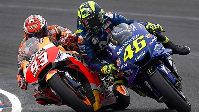 Rossi Berhasil Buat Marc Marquez Merasa Iri, Apa Itu?