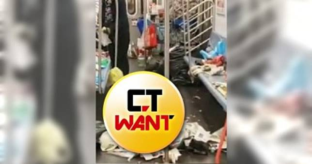 史上最噁攝影比賽! 紐約地鐵隨處可見垃圾、不明分泌物