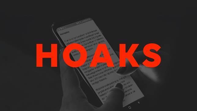 Awas Hoaks: Penularan HIV Lewat Tiup Terompet hingga Anggota KPU Diancam Dibunuh Jika Tak Menangkan Jokowi