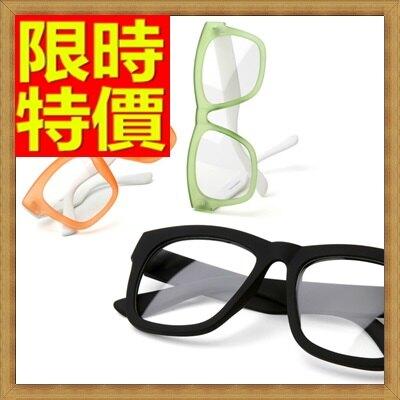 眼鏡框 鏡架-韓版時尚復古粗框女配件4色64ah15【獨家進口】【米蘭精品】