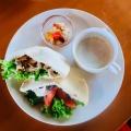 ピタパンサンド - 実際訪問したユーザーが直接撮影して投稿した吉田神楽岡町カフェ茂庵の写真のメニュー情報