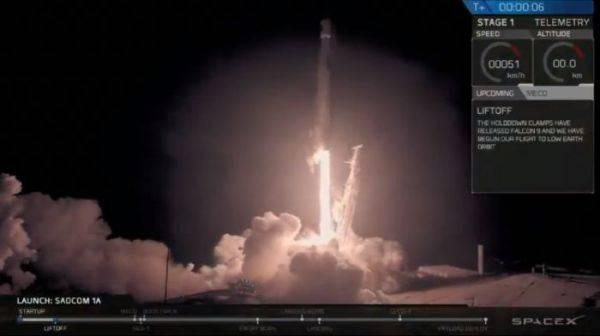 Satelit Republik Indonesia Meluncur Gandeng Space-X