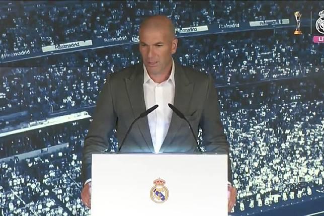Zinedine Zidane Kembali, Satu dari Tiga Masalah Real Madrid Teratasi