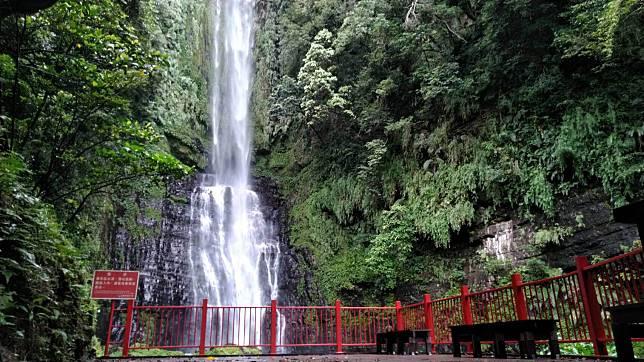 礁溪五峰旗風景區往最上層瀑布的登山步道將於今年9月重新開放