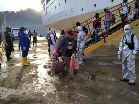 3 Warga Yapen Reaktif Rapid Test Usai Perjalanan dari Manokwari