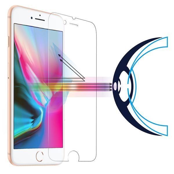RetinaGuard 視網盾 手機保護貼品牌 iPhone8 / 8Plus 防藍光鋼化玻璃保護貼【不影響 3D touch】