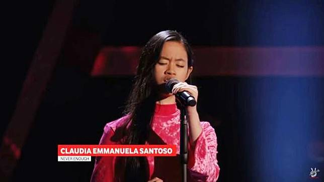 Suara Tiga Oktaf Claudia Emmanuela Santoso Gadis Cirebon Juara The Voice of Germany