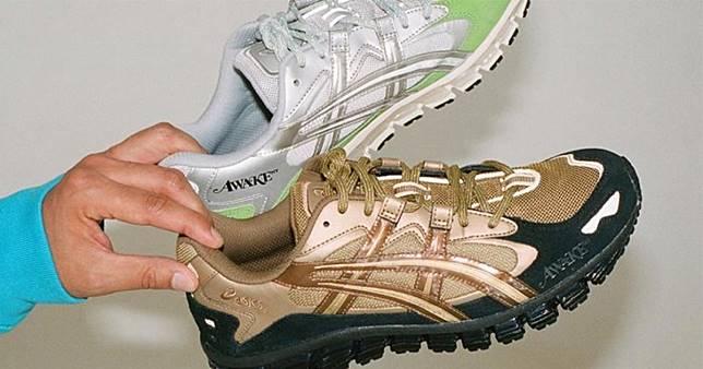#球鞋幾乎搞砸了我的生活,但也讓它更滿足!:AWAKE NY x ASICS 金銀雙色展開