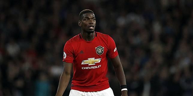 Gelandang Manchester United Paul Pogba. (c) AP Photo
