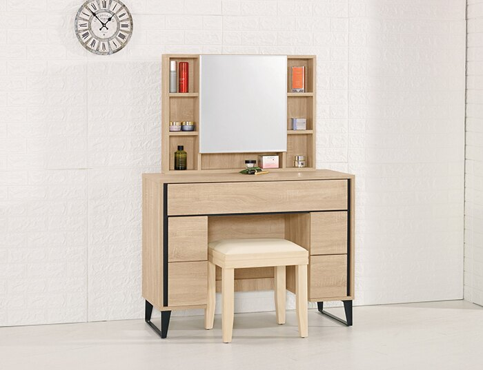 【 尚品傢俱】CM-583-3 尼爾森3.3尺化妝台(含椅)~~另有2尺(含椅)~~。居家,家具與寢飾人氣店家尚品傢俱的有最棒的商品。快到日本NO.1的Rakuten樂天市場的安全環境中盡情網路購物,