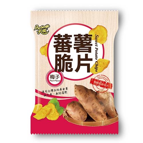 卡滋蕃薯脆片-梅子90G【愛買】