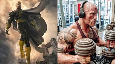 嗆聲「DC 宇宙階級要變天了」!巨石強森秀出《黑亞當》超猛特訓肌肉身材成果!