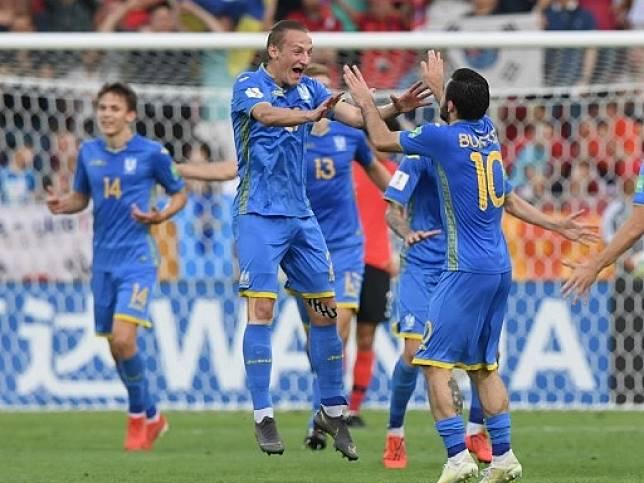 烏克蘭奪得世青盃冠軍。(法新社)