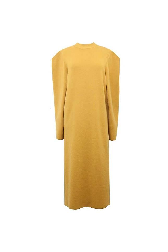 Anteprima淺黃色針織連身裙 原價HK$7,995 特價HK$1,599(互聯網)