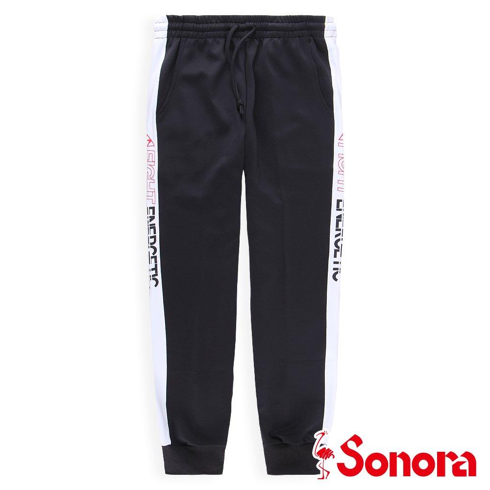 【SONORA 尚諾奈】MIT束口運動褲(黑色)