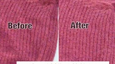 老是被嫌是菜乾?這2招快速拯救皺巴巴針織衣