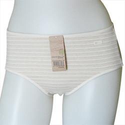 【黛安芬】Eco Chic裸紗原棉純粹平口褲(M-EL號/自然棕)