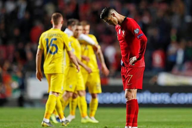Kembali diperkuat Ronaldo, Portugal ditahan imbang 0-0 oleh Ukraina