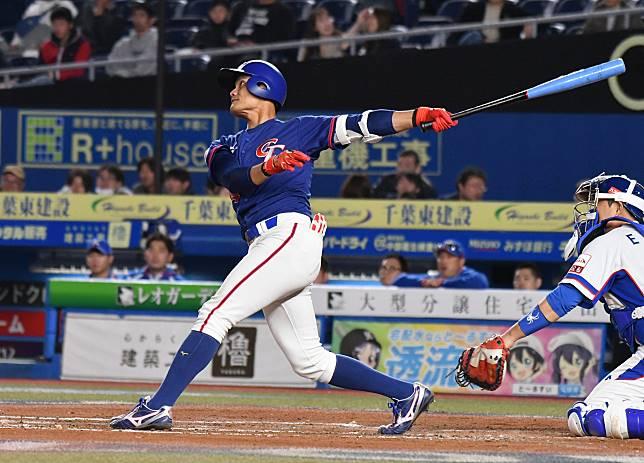 世界棒球12強中華隊游擊手王勝偉。(圖/記者葉政勳攝 )