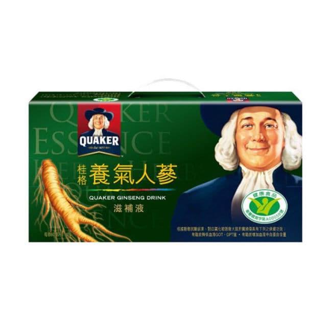 搭配蓮子與百合精煉出人蔘皂甘複方,獲得國家健康食品認證,是安全有效的滋補聖品! 規格:60ML*18入 使用方式:1.每日建議食用一至二瓶,每日上限三瓶 產地國:台灣 注意事項:.請洽醫師或營養師有關