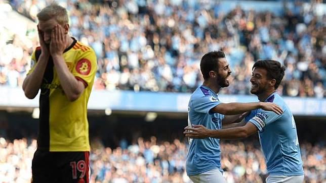 7 Fakta Menarik Setelah Manchester City Jadikan Watford Lumbung Gol