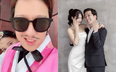 Trường Giang lần đầu chia sẻ ảnh Nhã Phương sau đám cưới và còn gọi vợ với tên 'bá đạo'