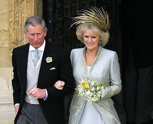 Camilia dan Pangeran Charles (2005).