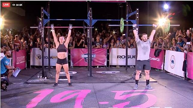 CrossFit Open 19.5: Mat Fraser and Tia-Clair Toomey face-off for the first time in epic showdown
