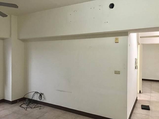 客廳改造前