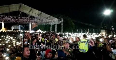 Aksi Copet Di Konser Ambyar Didi Kempot Di Ponorogo Puluhan Hp Raib