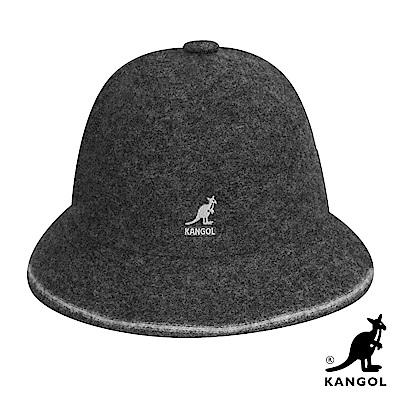 KANGOL鐘型帽-灰色
