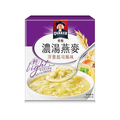 桂格濃湯燕麥-洋蔥起司風味-47gX5