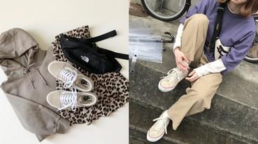 日本女生時尚穿搭全靠它!「蜜糖奶茶色」帆布鞋瘋魔全日本