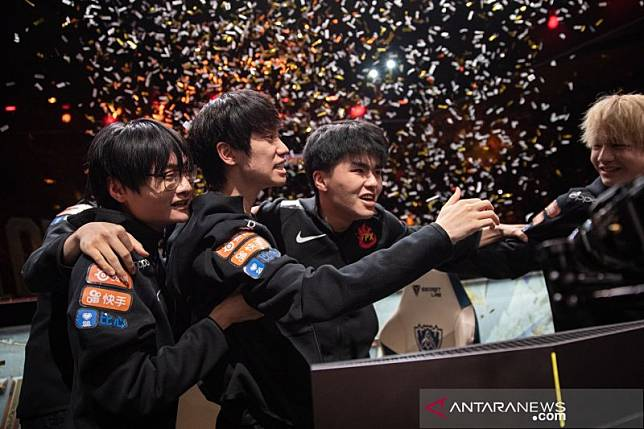 Tim China bungkam Eropa untuk juarai League of Legends World Cup