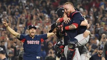 王者降臨!紅襪擊敗道奇勇奪 2018 MLB 世界大賽冠軍 Pearce 單場雙響成為系列賽 MVP!
