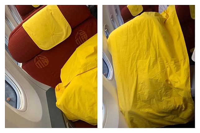 ▲ 「福」字搭配正黃色棉被,看起來超不吉利!(合成圖/翻攝自臉書爆料公社)
