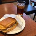 デニッシュサンドタマゴ - 実際訪問したユーザーが直接撮影して投稿した北新宿カフェカフェ・ド・クリエ 新宿フロントタワー店の写真のメニュー情報