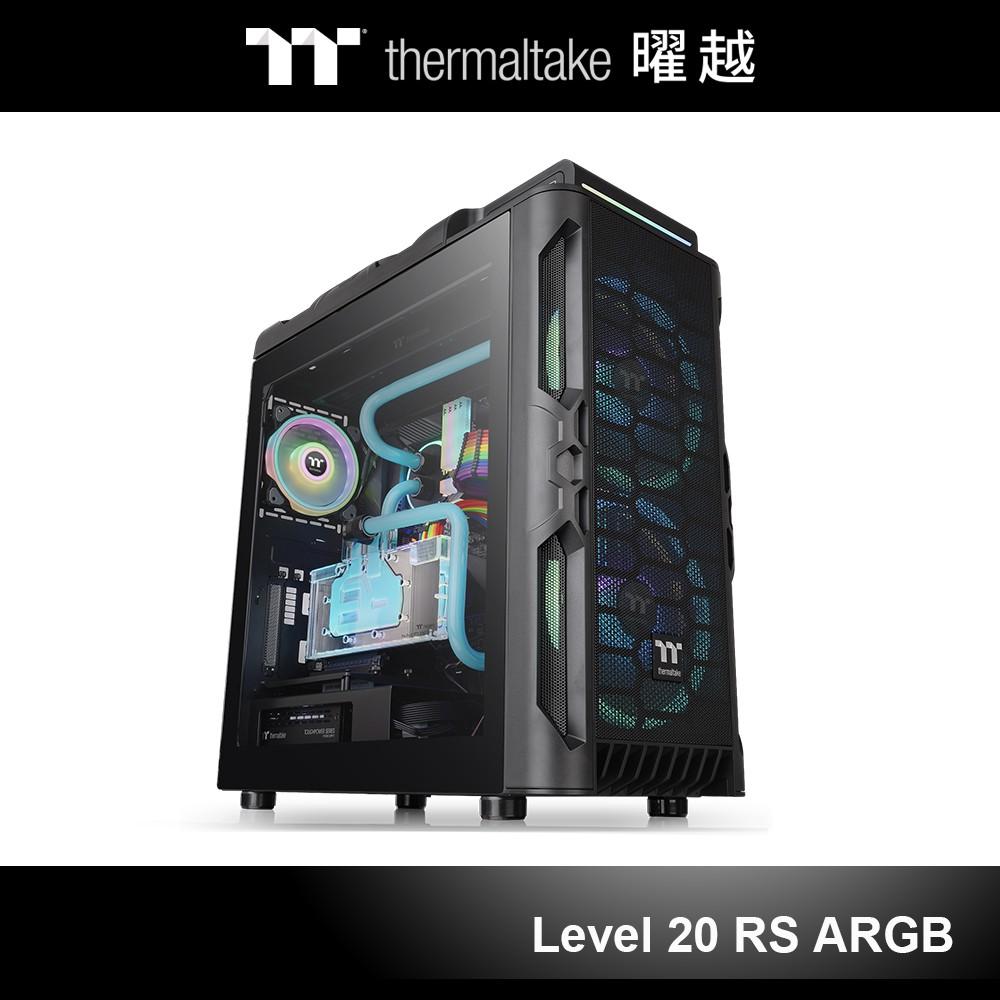 產品簡介Level 20 RS ARGB中直立式機殼支援至ATX主機板,內建前方兩顆200mm 5V ARGB主板連動風扇和後方一顆120mm標準型風扇,外加左右兩面4mm厚強化玻璃產品特色⭐️前方兩