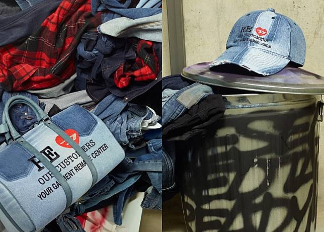 DIESEL RED TAG x READYMADE Travel Bag、Baseball Cap(互聯網)
