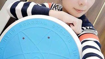 【運動好物推薦│健康大師】專利型太極990段按摩塑運動飛碟機+豪華版12顆電動凸點按摩枕