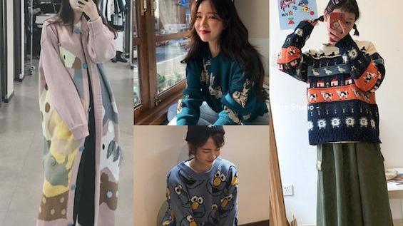 童趣x可愛【好評第二彈】!7款萌妹子童心毛衣瞄準你的荷包!