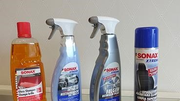 [汽車美容產品推薦] 德國進口SONAX汽車美容產品。自助洗車必備洗車精 用對產品洗車超輕鬆。鍍膜推薦--新車鍍膜、DIY鍍膜。中性鋼圈精推薦~