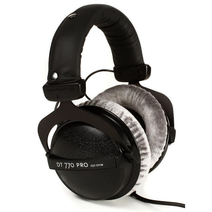 德國Beyerdynamic極經典專業耳機DT770 PRO 80Ω版 - 贈美製耳機專用掛【音響世界】