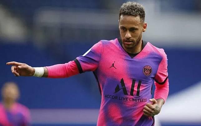 Striker Paris Saint-Germain Neymar da Silva Santos Jr./Antara/Reuters