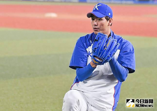 ▲世界棒球12強,韓國隊投手金廣鉉。(圖/記者葉政勳攝