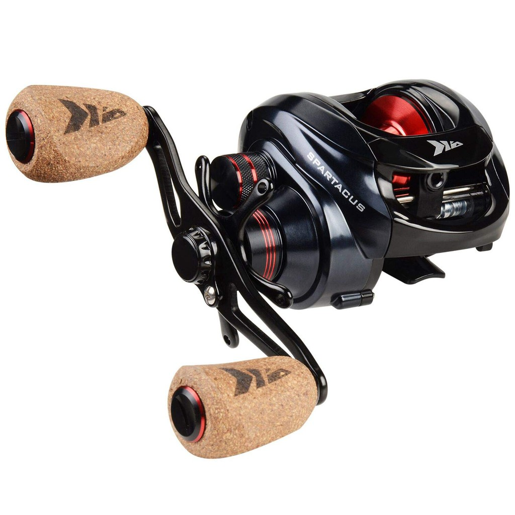Plus tournament ready carbon fiber drag with 17.5 LBs of trophy fish stopping power, make the Sparta