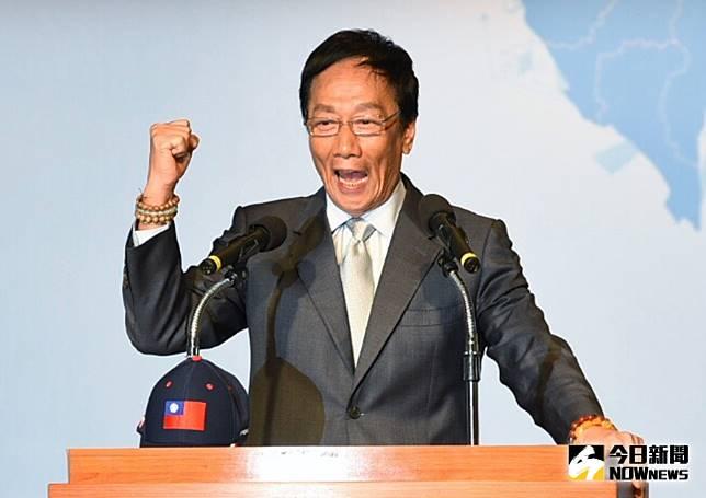 ▲鴻海創辦人郭台銘宣布退出國民黨。(圖/NOWnews資料照片)
