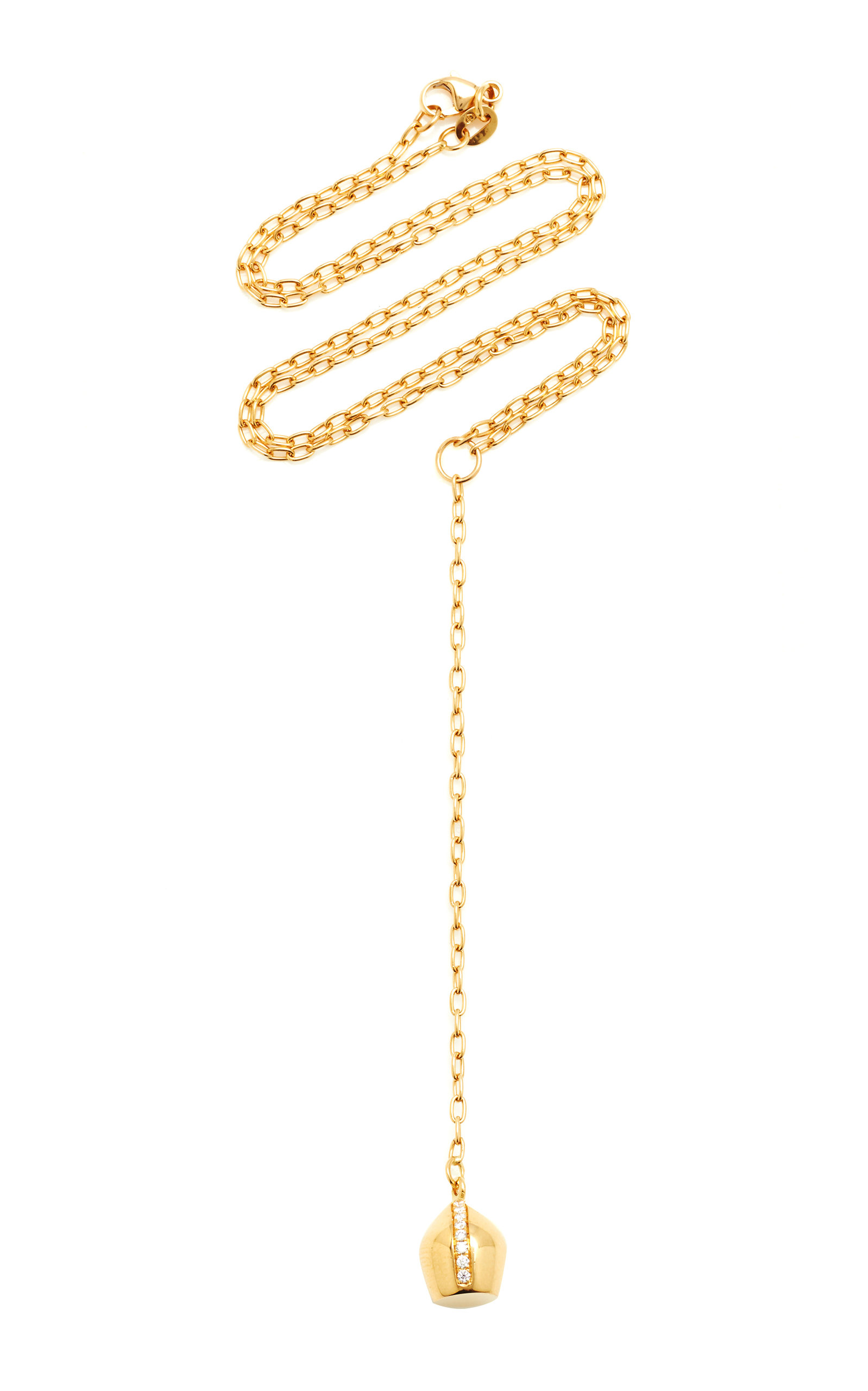 From the 'Nacres des Lunes' collection, Haute Victoire's necklace takes inspiration from the brillia
