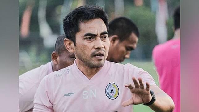 Pelatih PSS Sleman, Seto Nurdiyantoro. instagram.com/pssleman